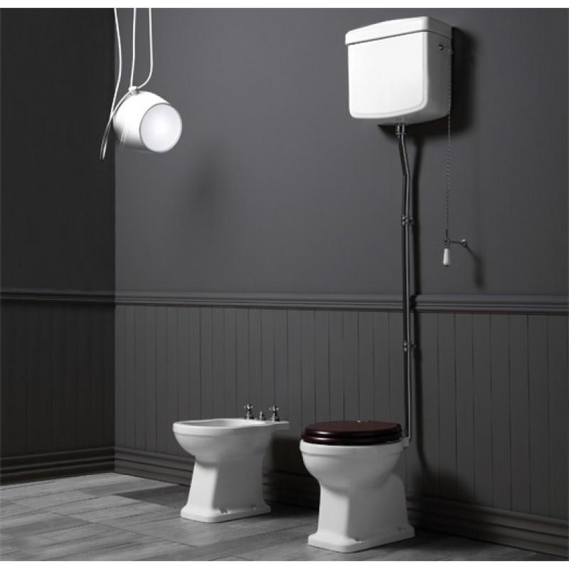 Londra högspolande toalett