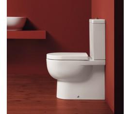 E-line golvstående toalett