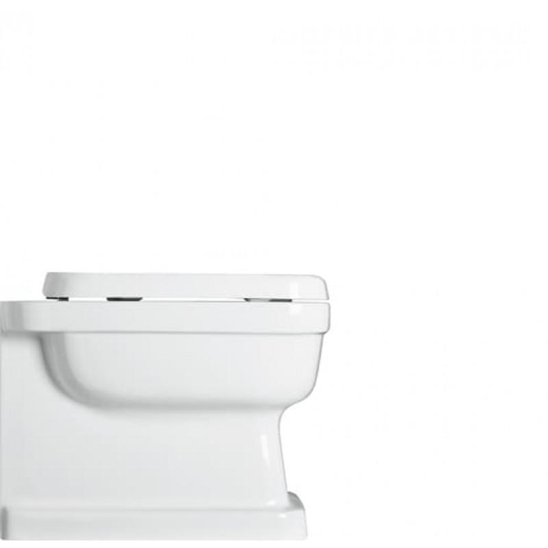 Evolution golvstående toalett med vägganslutning